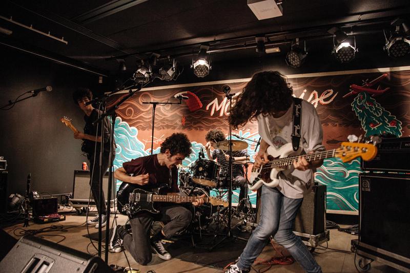 Mi m/úsica de Regalos im/án para Nevera Blanco Guitarra